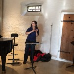 Unsere Dirigentin Franziska