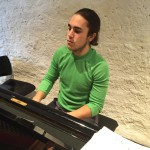 Unser Pianist Manuel
